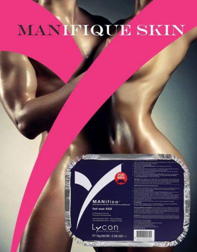 lycon wax voor mannen hot wax 1 kilo manifico line boyzilian