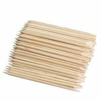 Orange Sticks - ronde wenkbrauw spatel (100 stuks)
