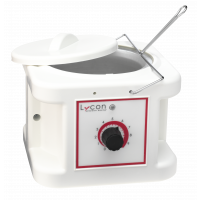 Lycon Wax Heater (Wit) met deksel 1 ltr