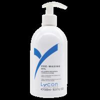 Lycon pre-waxing oil beschermt de huid
