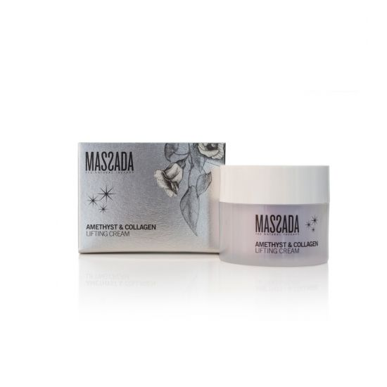 Amethyst & Collageen Lifting Cream - Massada Hyaluronic Accid