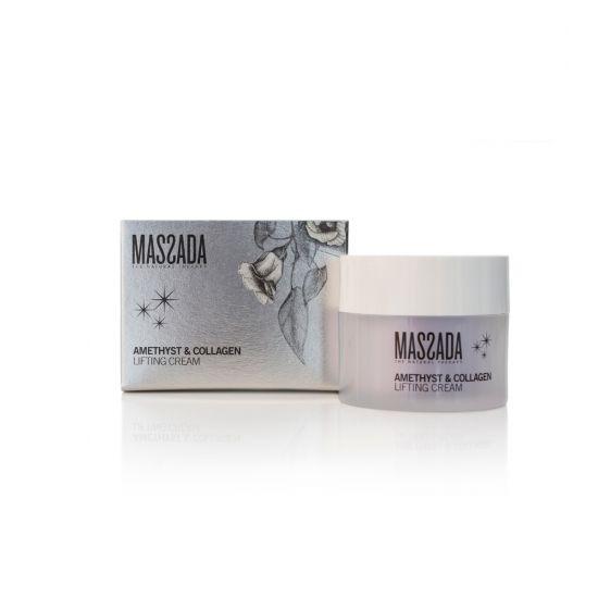 Amethyst & Collageen Lifting Cream - Massada Hyaluronic Accid