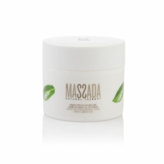 Dead Sea Exfoliating Salts with green tea - Massada