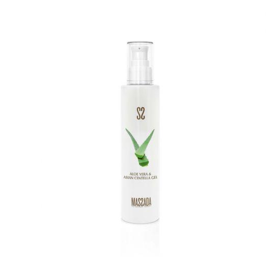 Aloe Vera & Asian Centella Gel - Massada