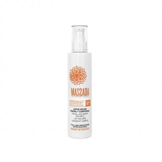 Sun Milk SPF 50 Facial & Body (200ml) - Massada