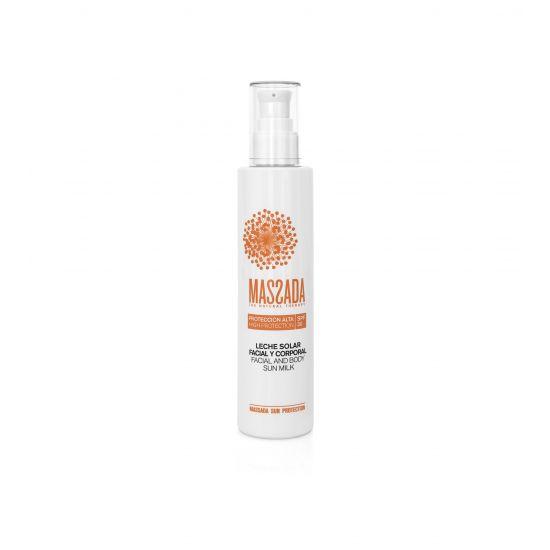 Sun Milk SPF 30 Facial & Body (200ml) - Massada Retail