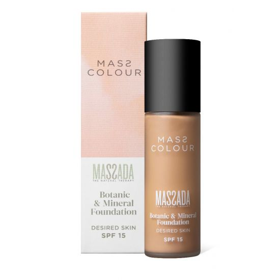 MASS COLOUR Mineral Foundation Make-up SF 15 - MASSADA