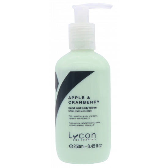 Lycon Apple & Cranberry Hand- & Body Lotion