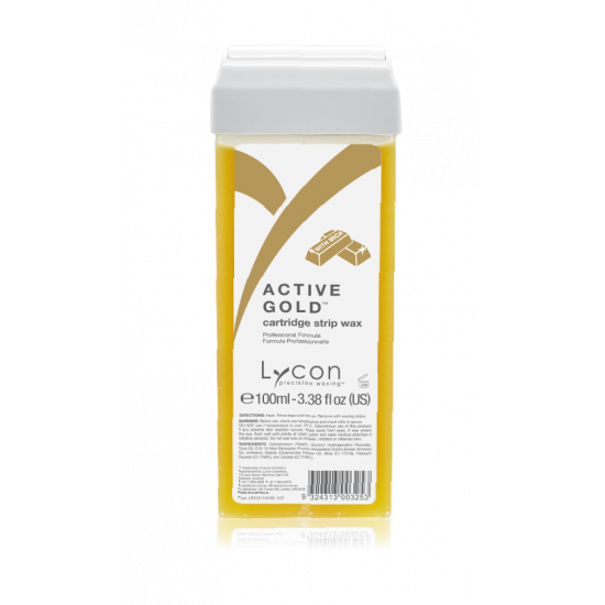 LYCON Active Gold Strip Wax Cartridges