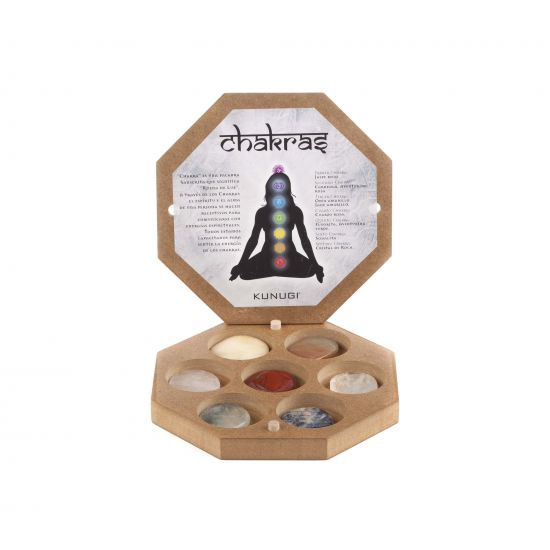Chakras in Woden Box - Massada ACC