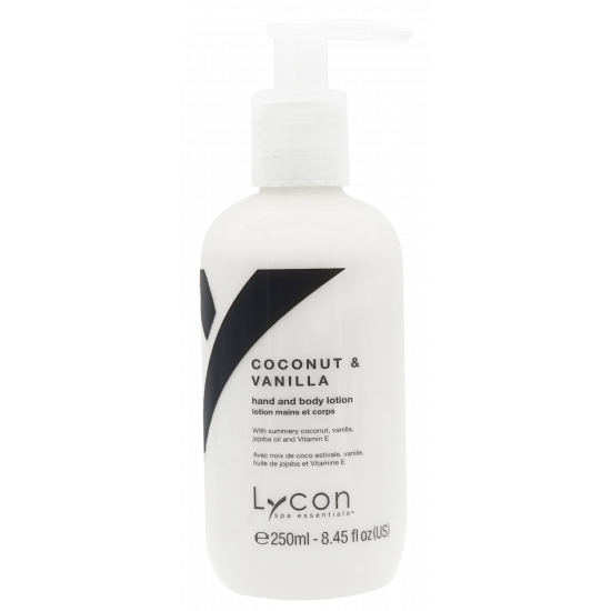LYCON Coconut & Vanilla Hand- & Body Lotion