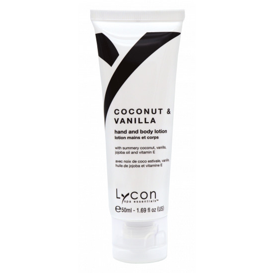 Tube Coconut & Vanilla (50ml) Hand & Body Lotion