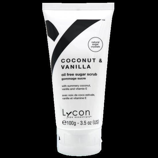 LYCON olie vrije tube Coconut & Vanilla Sugar Scrub