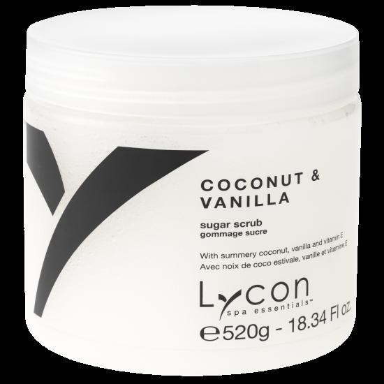 LYCON olie vrije Coconut & Vanilla Sugar Scrub