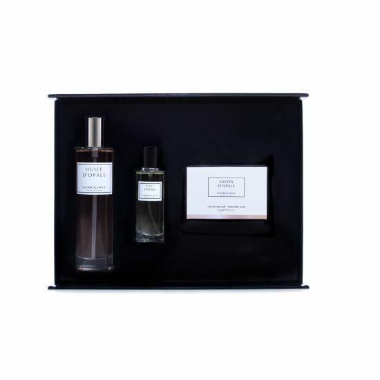 Giftbox Opale soap, Body Oil and Eau de Parfum - Gemology