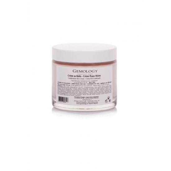Crème au Rubis - Gemology dagcreme gecombineerde huid