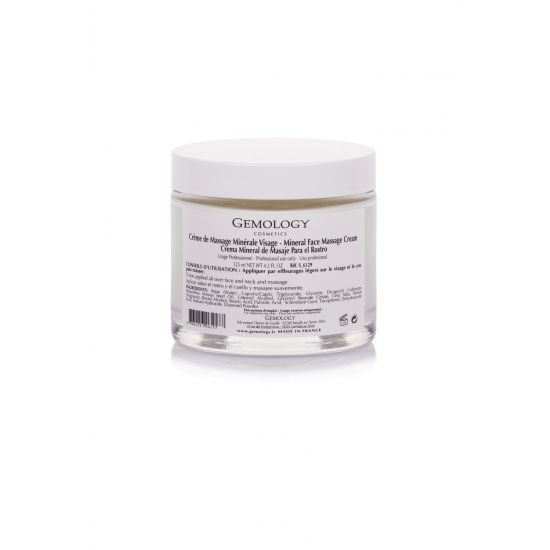 Crème de Massage Minérale Visage - Gemology PRO