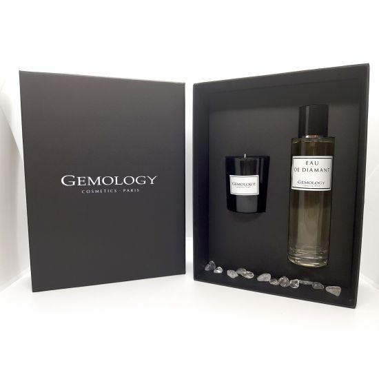 Giftbox Eau de Diamant & candle - Gemology