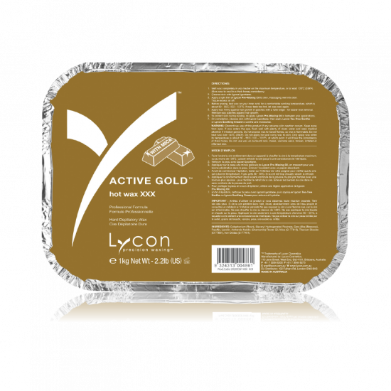 Active Gold Hot Wax - Lycon
