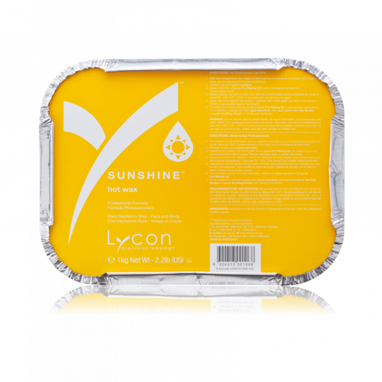 Lycon Sunshine Hot Wax