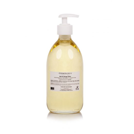 Huile de Massage Peridot Oil (500ml) - Gemology PRO