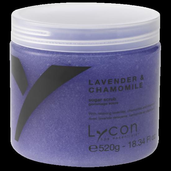 LYCON olie vrije Lavender & Chamomile Sugar Scrub