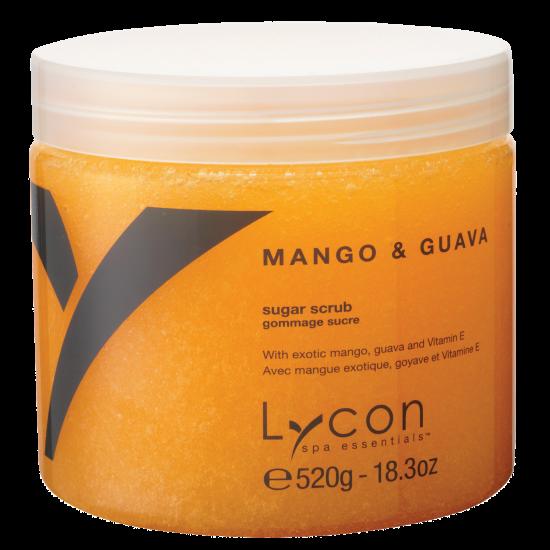 LYCON olie vrije Mango & Guava Sugar Scrub