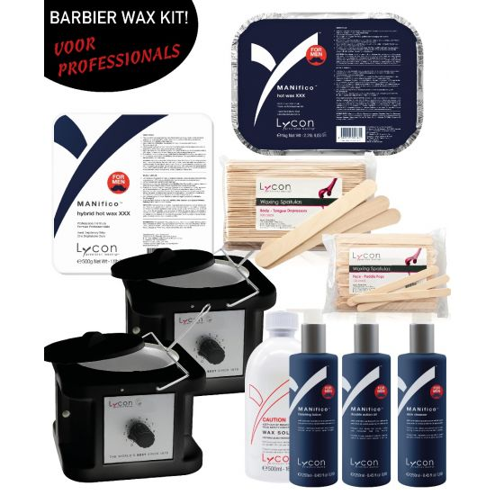 lycon barbier kapper wax kit