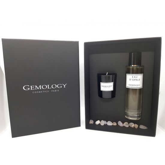 Giftbox Eau d'Opale & candle - Gemology