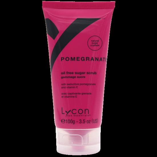 LYCON Tube olie vrije Pomegranate Sugar Sugar Scrub