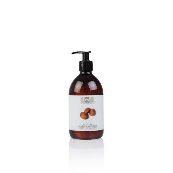 Sweet Almond Oil (500ml) - Massada
