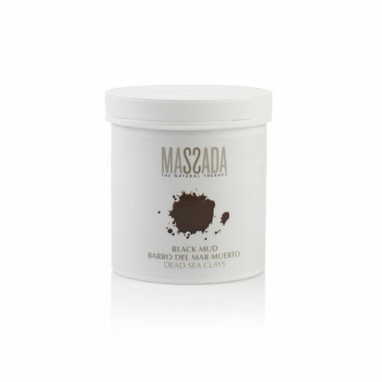 Black Mud Dead Sea Clay - Massada Therapeutisch