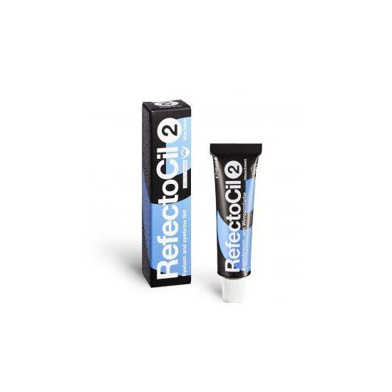 Refectocil wimper- en wenkbrauwverf kleur 2 blauw/zwart