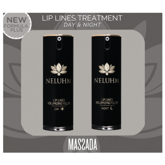 Giftbox - Neluhm Lip Lines Volumizing Filler Day & Night - Massada