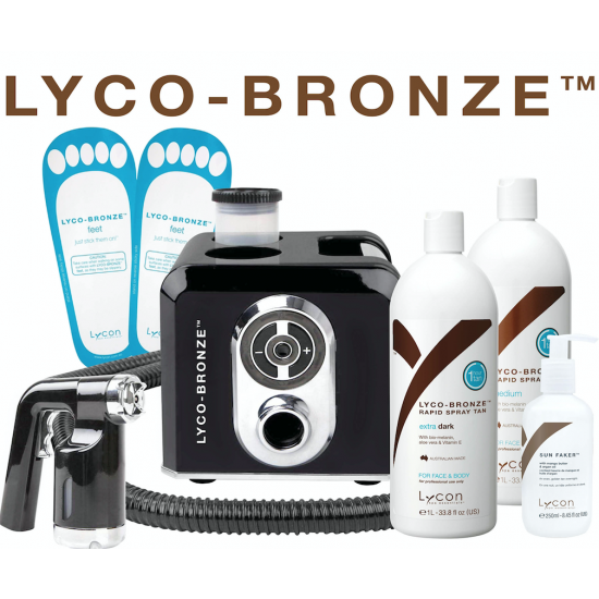 lycon lyco'bronze tan starterskit producten en training