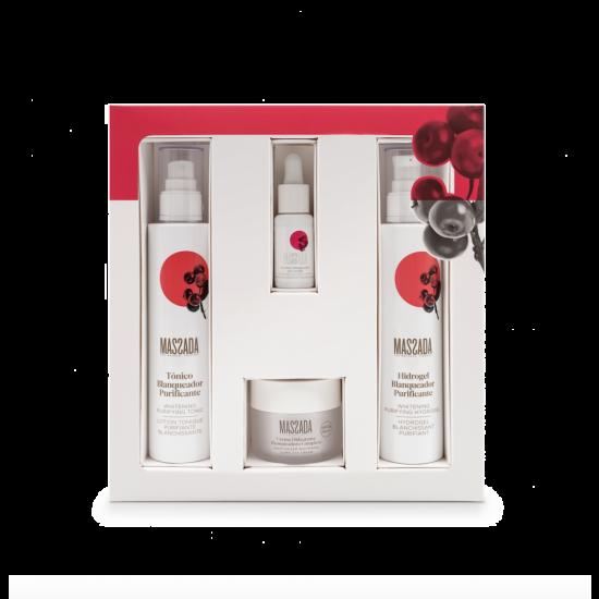 WHITENING LIJN cadeau - gift box massada