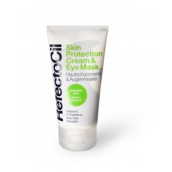 Skin protection cream & eye mask refectocil