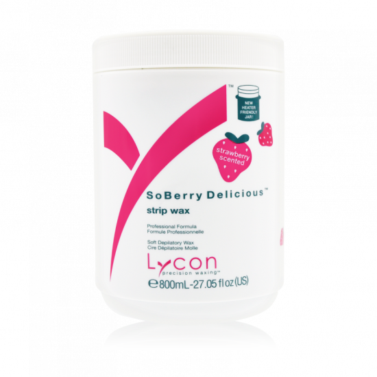 LYCON SoBerry Delicious Strip Wax 800ml