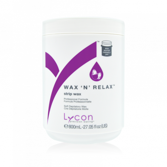 LYCON - wax 'n reax 800ml strip wax voor het gehele lichaam
