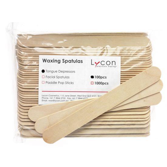 LYCON houten wax spatel regular 100 stuks