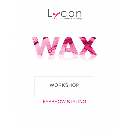 EyeBrow Styling Wax Workshop - Lycon